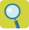Icon for WP3: A magnifier